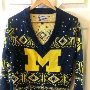 """University of Michigan """"ugly"""" Sweater"""